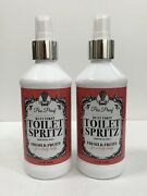 Poo Proof Butt First Toilet Spritz Fresh And Fruity Scent New 8 Oz X 2 Free Ship