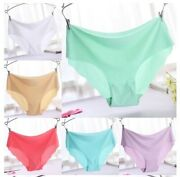 2 Pc Panties Seamless G-string Briefs Women Lace Underwear Lingerie Thongs 1