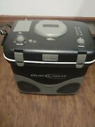 Bud Light Portable Cooler Box With Am Fm Radio And Ipod Dock