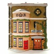 Dept 56 Dickens Village King's Road Post Office 5801-7 Free Shipping Mib