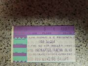 Bob Seger And The Silver Bullet Band Concert Ticket Stub February 9 1996