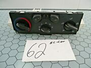 04 - 12 Gmc Canyon Chevrolet Colorado Ac And Heater Control Used Stock 62-ac