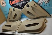 06-11 W219 Mb Cls55 Cls63 Cls550 Full Set Of Beige Door Panels Front And Rear Oem