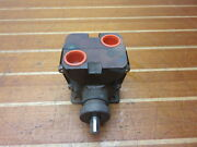 Groco P-9000 Marine Boat 3/4 Fnpt 60 Psi Two Stage Rotary Pump Head Only