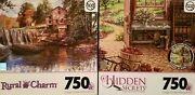 Lot Of 2 Tcg 750 Piece Jigsaw Puzzles Factory Sealed