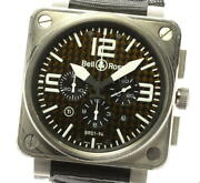 Bell&ross Br01-94 Chronograph Date Black Dial Automatic Menand039s Watch_563711