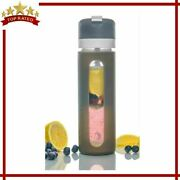 Infuser Bottle Travel Glass Tumbler For Herbal Loose Leaf Tea Bags By Hey Girl