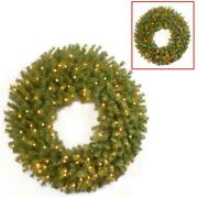 Norwood Fir Battery Operated Artificial Round Wreath Dual Color Led Lights