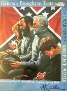 White Mountain Puzzles Civil War Series Generals Brought To Tears 1000 Piece Puz
