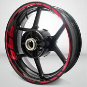 Motorcycle Rim Wheel Decal Accessory Sticker For Ducati 999