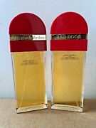 Lot Of 2 Red Door Classic Old Formula Women Perfume Edt Spray 3.3 3.4 Oz See Pic