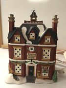 Dept. 56 Dickenand039s Village Retired Boarding And Lodging School