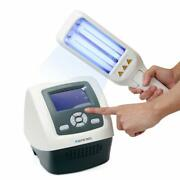 Home Use Light Phototherapy With Double Lamps Smart Timer Vitiligo Free Goggles