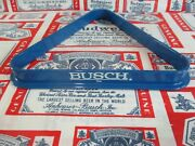 New Vtg 80and039s Budweiser Busch Beer Pool Balls Table Rack Bar Sign No Motion Light