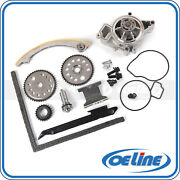 Timing Chain Kit For 00-08 Chevrolet Pontiac 2.2l Water Pump Gear Oiler Bolts
