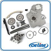Timing Chain Kit For 02-10 Chevrolet 2.2l Oil Water Pump Gear Oiler Bolts Set