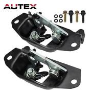 2x 38666 38667 Tailgate Handle Latch Replacement For Chevy Silverado Lh Rh 99-07