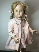 23andrdquo Antique Madame Alexander Compo And Cloth Large Doll All Original Blonde Me