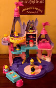 Fisher-price Little People Disney Princess Songs Palace And 9 People Figures Works
