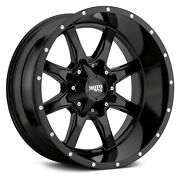 20x10 Mo970 37 Mt Black Wheel And Tire Package 5x5 Jeep Wrangler Jk Jl Tpms