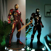 Cm Studio Iron Man Mk46 1/2 Scale Gk Collector Resin Model Painted Led Statue