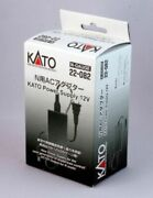 Kato N Scale Ac Adapter Power Supply For Power Pack Standard Sx 22-082