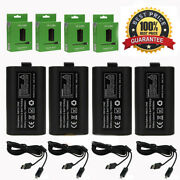 4pcs For Official Microsoft Xbox One Play And Charge Kit Xbox One Battery Pack
