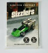 Hot Wheel Redline Sizzler Extremely Rare Sizzler Collector's Card Co-motion 1997