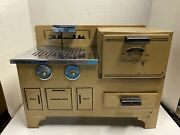 Vintage Empire Ware Corp. Large Toy Tin Electric Stove