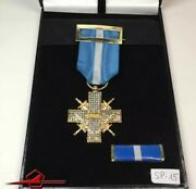 Replica Daily Use Spain Medal Cross War W. Palms For Ncoandtroopers Box Ribbon Bar