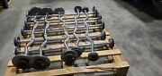 American Barbell Gp Pro Style Straight And Curl Barbells 15 Lb-35 Lb Set