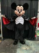 Mickey Mouse Vampire Halloween Character Mascot Costume Cosplay Party Event Adul