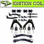 Fits For 1990-1993 Honda Accord Kit 14 Pair New Suspension Control Tie Rod End