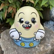 """Limited Bimtoy Lil Spooky 5"""" Tiny Ghost Vinyl Figure /350 Sold Out Same Day Ship"""