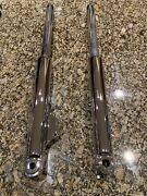 2003 Paioli Indian Fork Legs Set Vantage Custom Chrome Sliders Outright