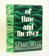 Thomas Wolfe / Of Time And The River A Legend Of Manand039s Hunger In His Youth 1st