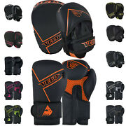 Velo Boxing Pads And Gloves Set Adult Training Focus Punch Mitts Sparring Ladies