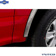 Putco Stainless Steel Fender Trim For 17-20 Ford F-250/350/450- Polished, 3.5''