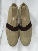 Extremely Rare Vintage Mens Canvas Espadrille Loafers Collector