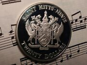 St Christopher Kitts And Nevis 20 1982 Km4a Ag Battle Of The Saints Very Rare