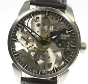 Tissot T-complication Skelete T070405a Hand Winding Menand039s Watch_573447