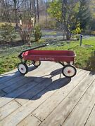 Vintage Sears Roebuck And Co. Red Wagon