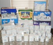 Lot Of Precious Moments Sugar Town Figurines And Sets Lots Of Extras