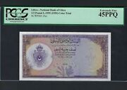 Libya 1/2 Pound L19551959 P19ct Color Trial Extremely Fine