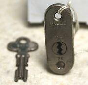 1925-1926 Chevrolet Eagle Outside Door Lock With Key 71