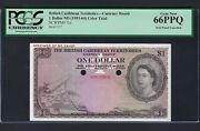 The British Caribbean Territories One Dollar Nd1953-64 P7ct Color Trial Unc