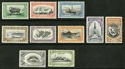 Falkland Islands 1933 Scott 65-76 Mint Lightly Hinged Part Set