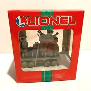 Lionel Flatcar Loaded With Toys For Girls And Boys Christmas Collectors Ornament