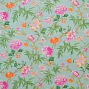 Clarence House Vieux Canton Floral Cotton Print Multipurpose Fabric 10 Yards