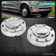Fit For 11-2016 Dodge Ram 3500 1-ton Dually Front Alcoa Alloy Wheel Center Caps